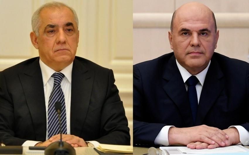 Али Асадов поздравил премьер-министра России