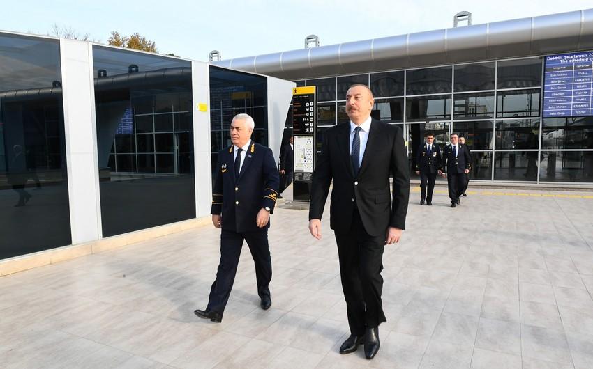 Президент Ильхам Алиев: После назначения мною на эту должность Джавида Гурбанова, есть большие подвижки