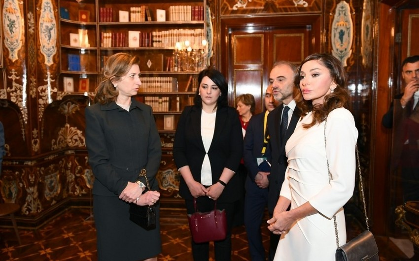 First lady Mehriban Aliyeva viewed Quirinale Palace in Rome