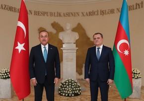Jeyhun Bayramov had telephone conversation with Mevlüt Çavuşoğlu