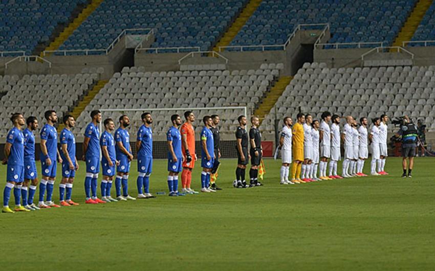 Сборная Азербайджана встретится сегодня с Кипром