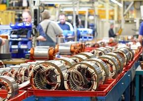 Промышленное производство в Азербайджане сократилось на 5 %