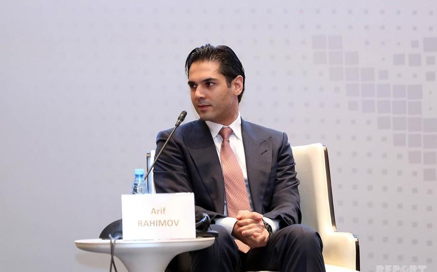 Arif Rəhimov Monakoda Formula 1lə bağlı iqtisadi forumda iştirak edib