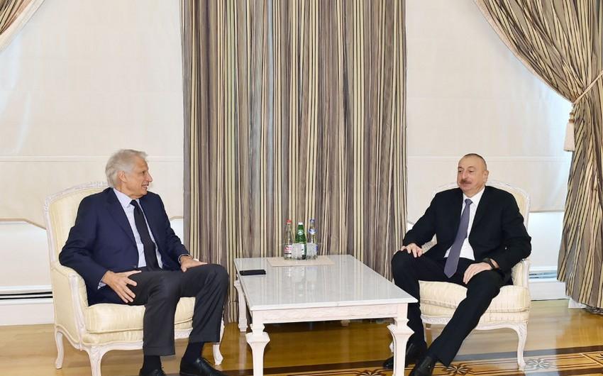 Президент Азербайджана принял бывшего премьер-министра Франции - ОБНОВЛЕНО