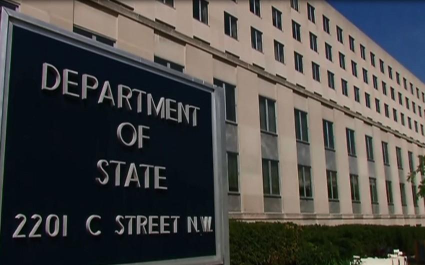 ABŞ Dövlət Departamenti Senatı səfir vəzifəsinə bütün namizədləri təsdiqləməyə çağırıb