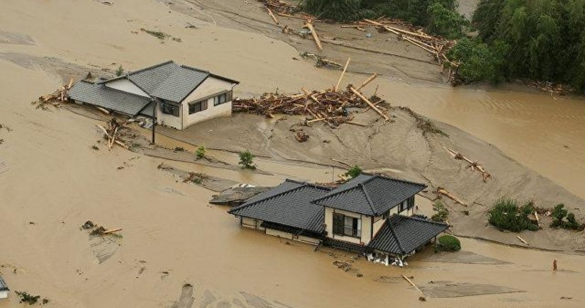 В Японии 15 человек погибли из-за ливней - ОБНОВЛЕНО