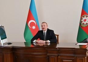 Azərbaycan Prezidenti: Müharibə başlayan kimi bizi dəstəkləyən ilk ölkə qardaş Türkiyə oldu