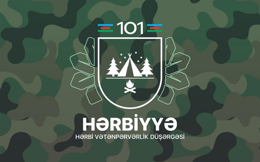 """""""Hərbiyyə-101"""" hərbi vətənpərvərlik düşərgəsinə start verilir"""