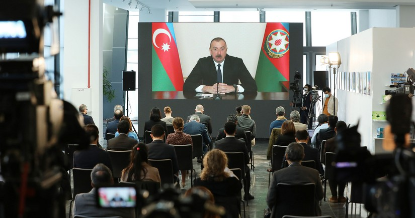 ElDiario: Ilham Aliyev says Armenia must comply with ceasefire pact
