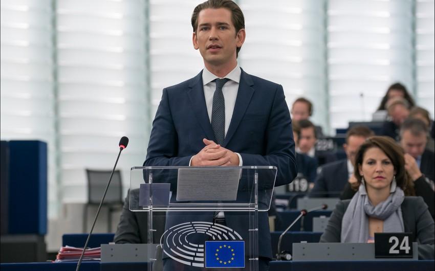 """Avstriya kansleri: """"Belarusda yeni seçkilər olmalıdır"""""""