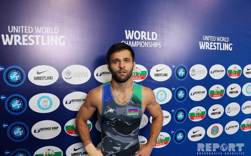 Azərbaycan güləşçisi dünya çempionatında bürünc medal qazanıb - YENİLƏNİB-7