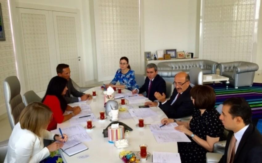 Əbülfəs Qarayev BMT Sivilizasiyalar Alyansının nümayəndə heyəti ilə görüşüb
