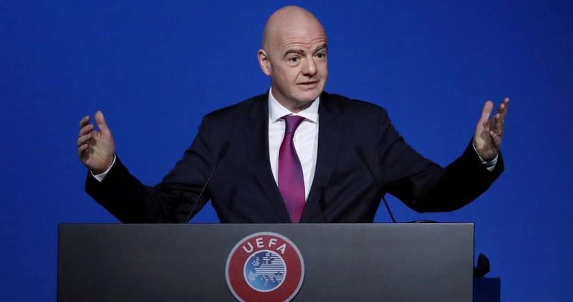 FIFA president to watch Switzerland-Turkey match in Baku