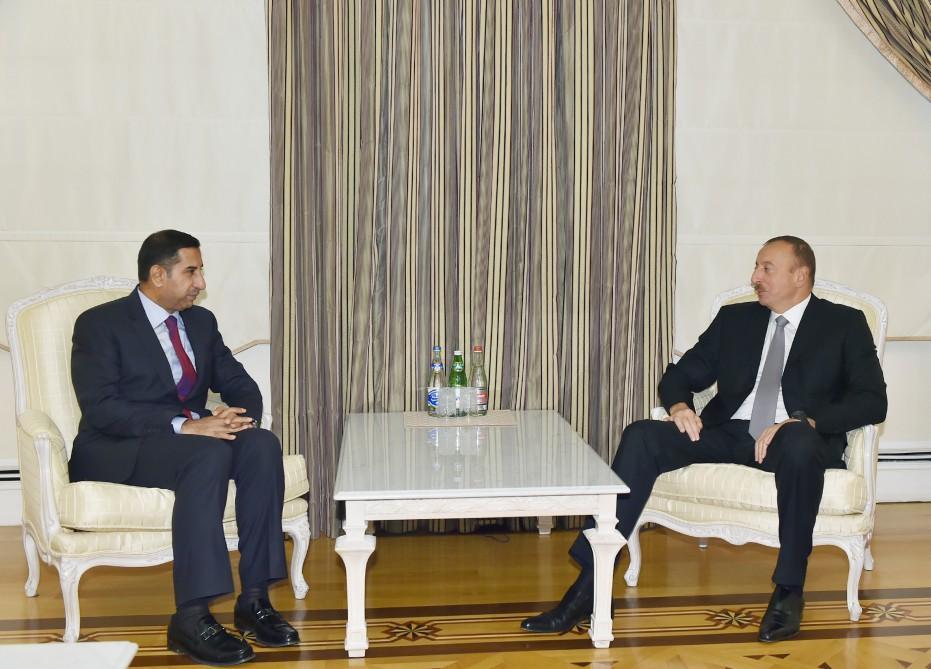 President Ilham Aliyev received the outgoing Iraqi Ambassador