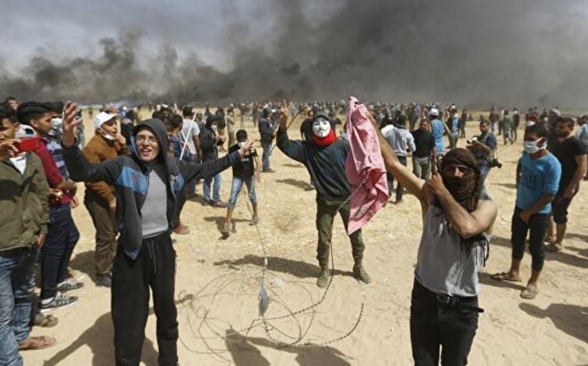 В Газе около 40 палестинцев пострадали в стычках с израильскими военными