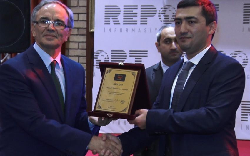 Mətbuat Şurası Report İnformasiya Agentliyini təltif edib