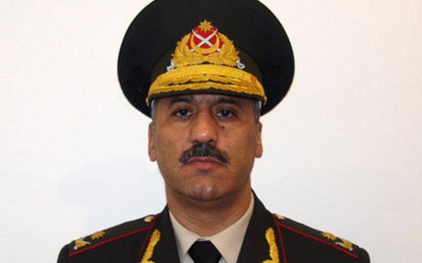 Şahin Məmmədova general-leytenant hərbi rütbəsi verilib