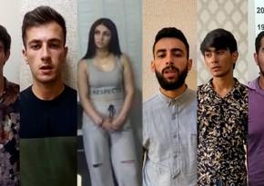 """""""TikTok""""da narkotik vasitələri təbliğ edən 6 nəfər saxlanılıb - VİDEO"""