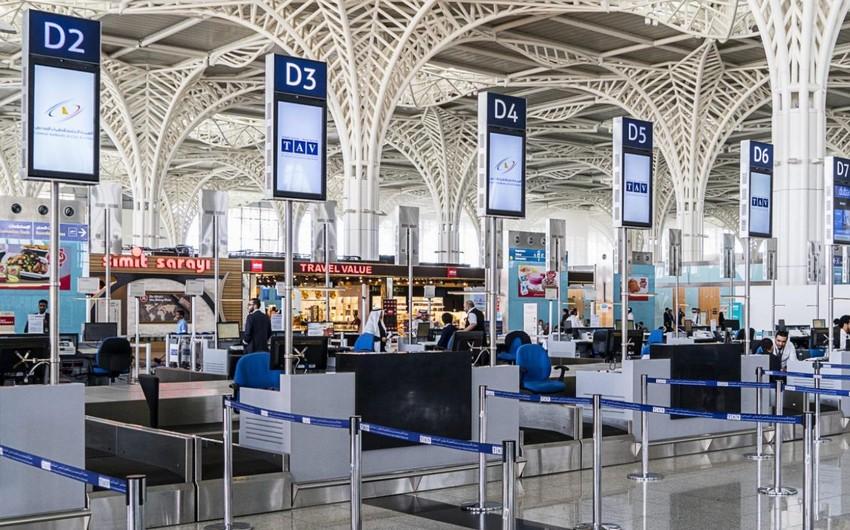Türkiyənin hava limanları idarəedicisinin gəlirləri 54% azalıb