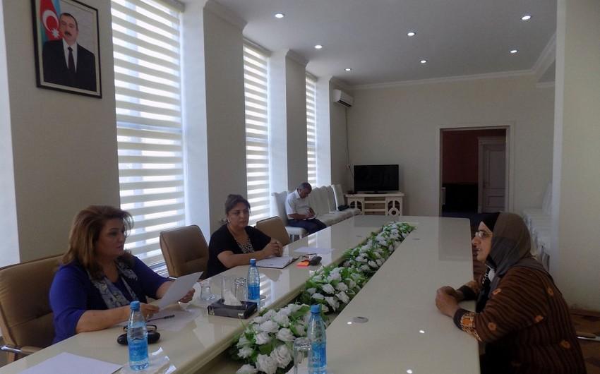 Hicran Hüseynova Masallı rayonunda vətəndaşları qəbul edib