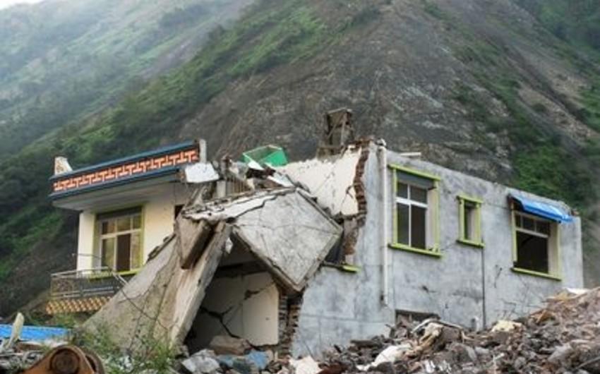 Çində 6,3 bal gücündə yeraltı təkanlar qeydə alınıb