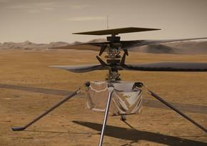 Вертолет Ingenuity во время полета на Марсе развил рекордную скорость