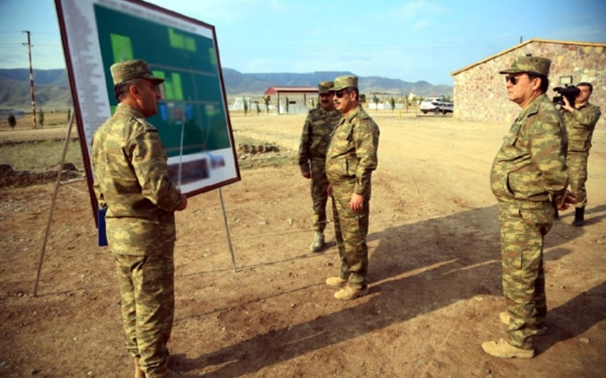 Defense Minister visited training and shooting center