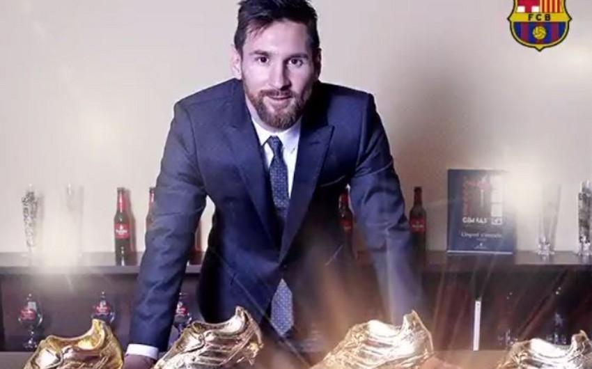 Месси в шестой раз выиграл Золотую бутсу