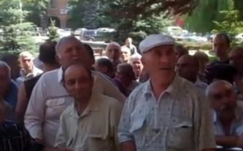 В Армении проходит акция протеста