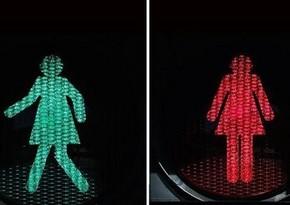 "Australia introduces ""female"" crossing lights"
