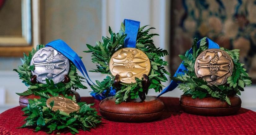 II Avropa Oyunlarında medal qazanan idmançılar və onların məşqçiləri üçün mükafatların məbləği müəyyənləşib - SƏRƏNCAM