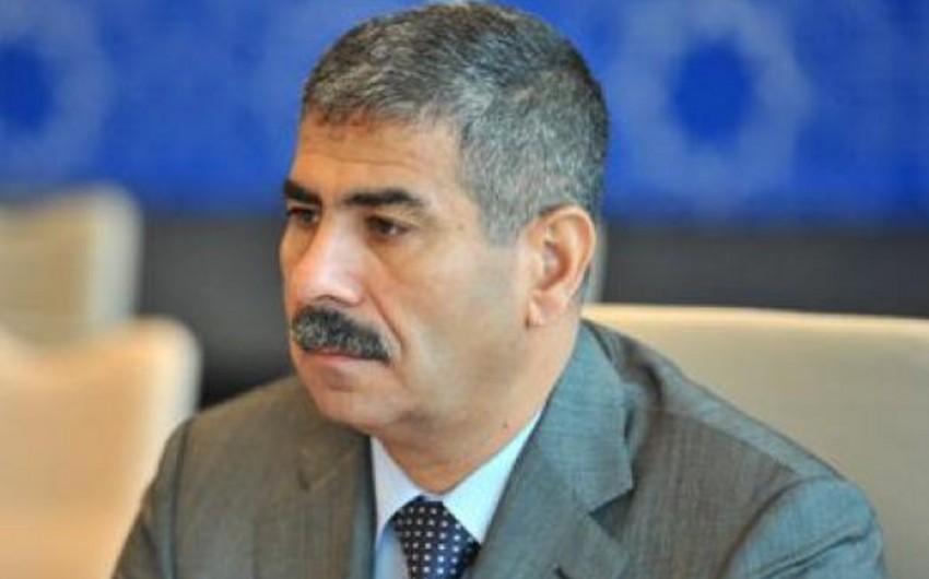 Defense Minister Zakir Hasanov leaves for Moscow
