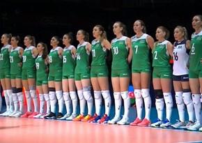Azerbaijani volleyball team loses to Serbia