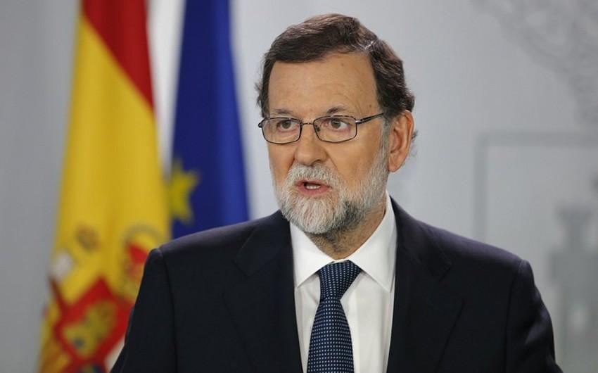 """İspaniyanın baş naziri: """"Kataloniyada qanunu bərpa edəcəyik"""""""