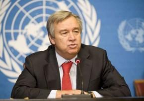 Генсек ООН обеспокоен гонкой вооружений в мире