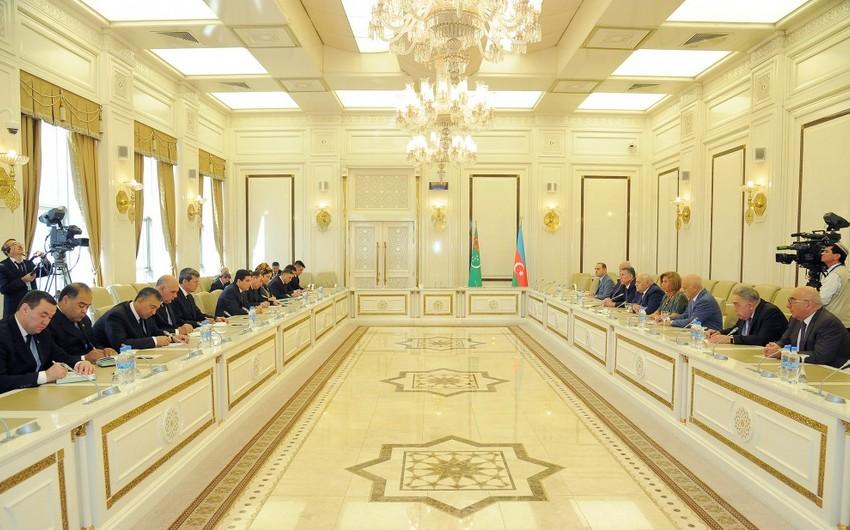 Огтай Асадов встретился с президентом Туркменистана