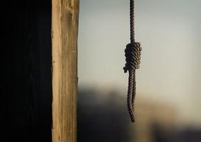 Qubada 66 yaşlı kişi intihar edib