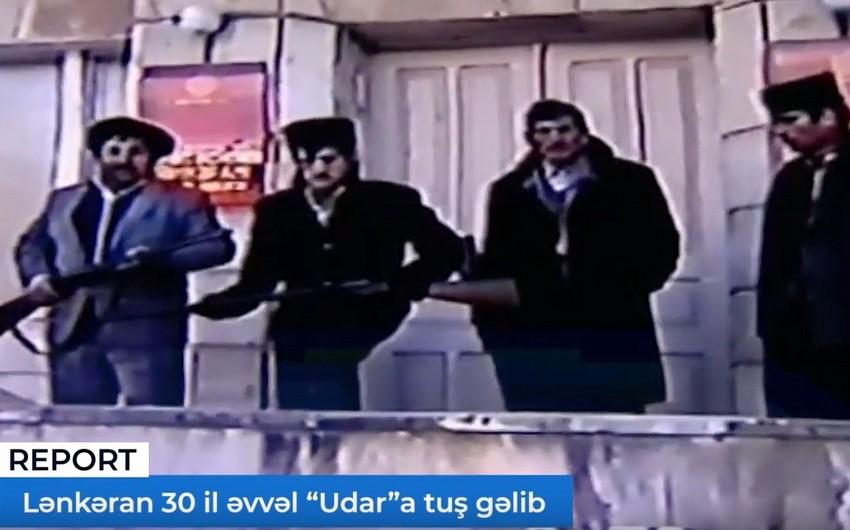 """Lənkəran da 30 il əvvəl """"Udar""""a tuş gəlib - VİDEOREPORTAJ"""