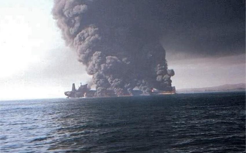 Suriyada neft tankerində partlayış olub