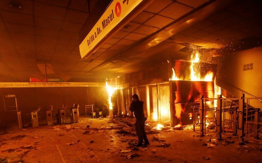 State of emergency declared in Chilean capital
