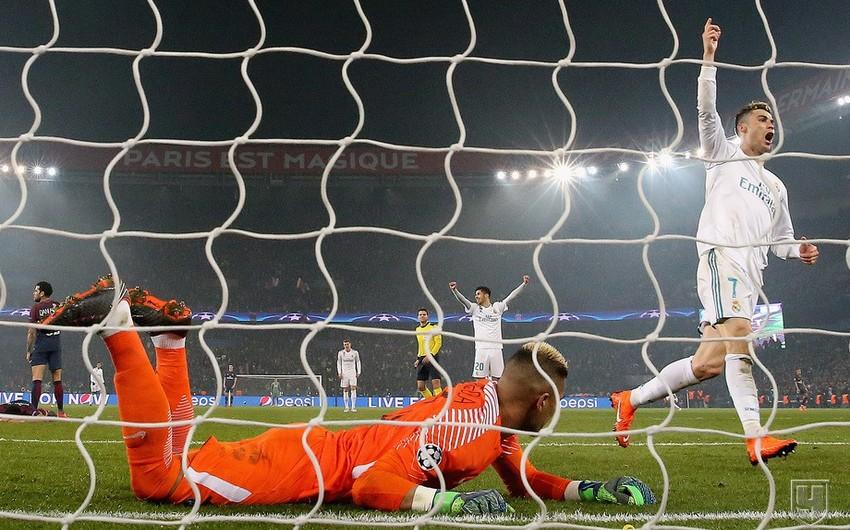 Ronaldu Çempionlar Liqasında ardıcıl 9 oyunda qol vuran ikinci futbolçu olub