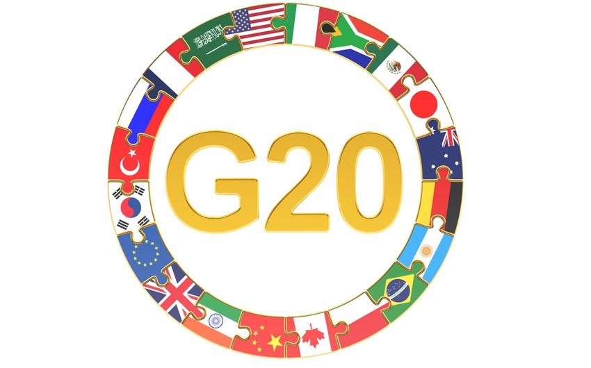 G20-nin Əfqanıstan üzrə fövqəladə zirvə görüşü keçiriləcək