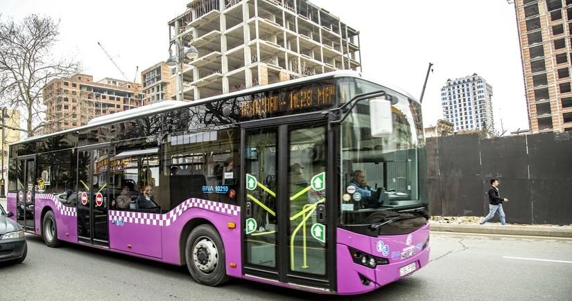 Bakıda əlavə avtobusların xəttə buraxılacağı vaxt açıqlandı