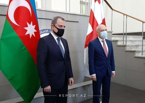 Azerbaijani, Georgian FMs begin meeting