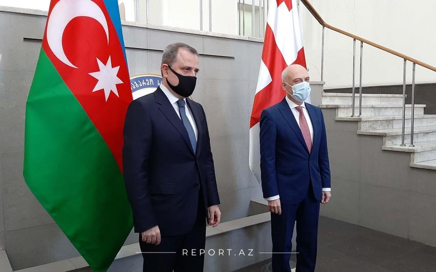 Azərbaycan və Gürcüstan XİN başçılarının görüşü olub