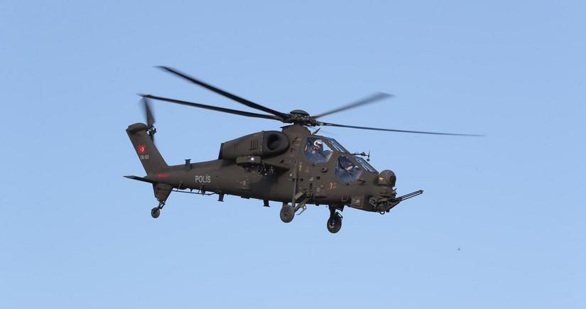 Türkiyə ordusuna daha bir ATAK helikopteri təhvil verilib