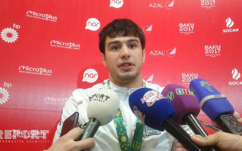 İslam Abbasov: İslamiada mənim üçün 2020-ci il Olimpiadasına tramplindir