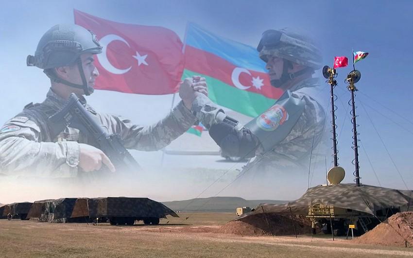 Azərbaycan və Türkiyə ordularının birgə təlimləri başlayıb - YENİLƏNİB