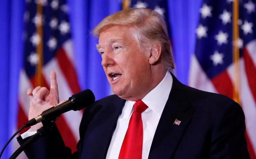 Tramp amerikalılardan tibbi maska taxmağı xahiş etməyəcək