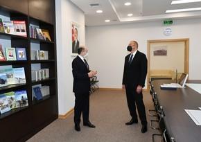 Prezident Suraxanı Rayon Məhkəməsinin yeni binasının açılışında iştirak edib - YENİLƏNİB